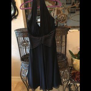 Tadashi  Black Evening Dress  Size 12